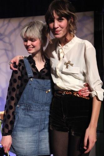 Celebrities en la Semana de Nueva York: nuevos looks. Alexa Chung I