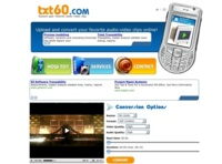 TXT60.com, conversor de archivos online