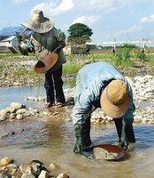 Una experiencia diferente: buscar oro en un río de Tailandia
