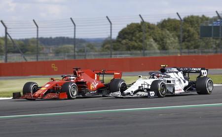 Vettel Gasly Silverstone F1 2020