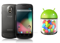 Galaxy Nexus se actualiza a Android 4.1.1 (Jelly Bean)