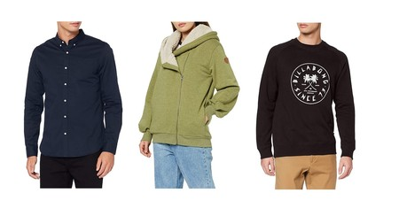 Chollos en tallas sueltas de camisas, camisetas o chaquetas Superdry, Billabong o Desigual en Amazon por menos de 30 euros