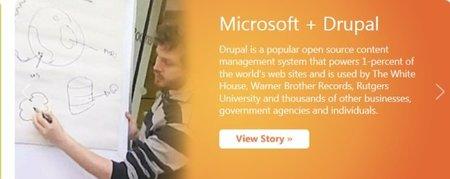 Microsoft Drupal