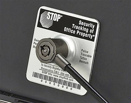 Secure-It, una pegatina para evitar el robo del portátil