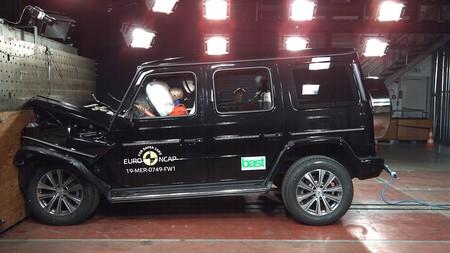 Euro NCAP apunta cinco estrellas a Mercedes-Benz Clase G, Honda CR-V y SEAT Tarraco