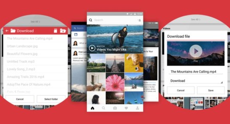 Opera Mini incluye un descargador de vídeos para verlos offline