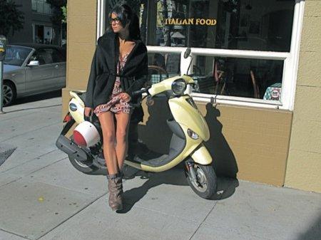 Ray-Ban Wayfarer streetstyle vestido corto