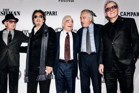 Pesci Pacino Scorsese De Niro Keitel