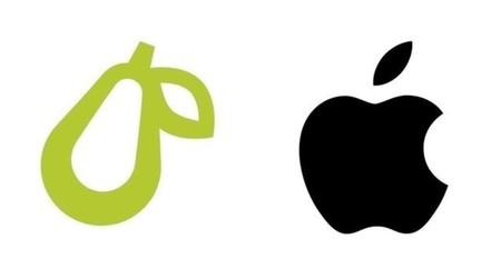 Parece pera, tiene el color de una pera, pero Apple piensa que el logo de esta app podría ser una manzana y decidió demandar