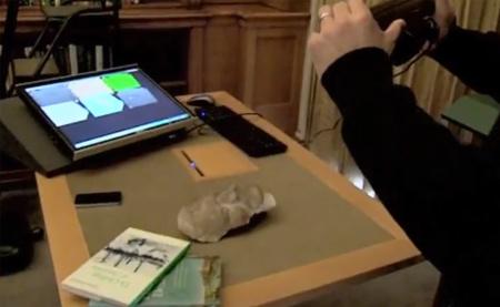 Kinect demuestra sus capacidades como escáner 3D recreando la máscara mortuoria de Isaac Newton