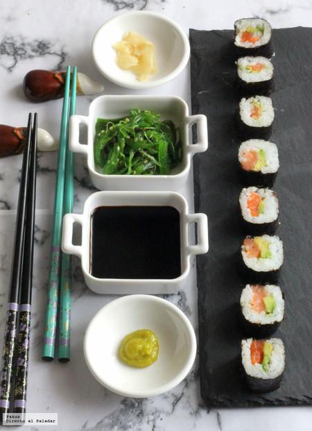 Sushi fácil (Maki rolls)