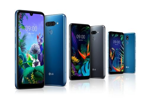 LG Q60, K50 y K40: la nueva gama media tiene notch de gota y hasta triple cámara