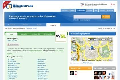 Bitacoras.com se hace social