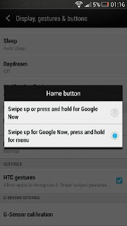HTC One home button