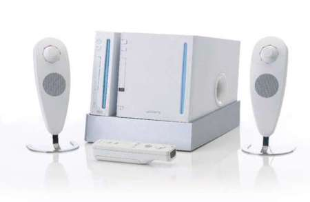 4Gamers 2.1 Speaker System for Wii