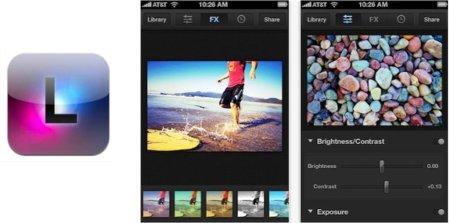 Luminance app iOS