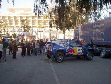 Asistencia VW Dakar Málaga