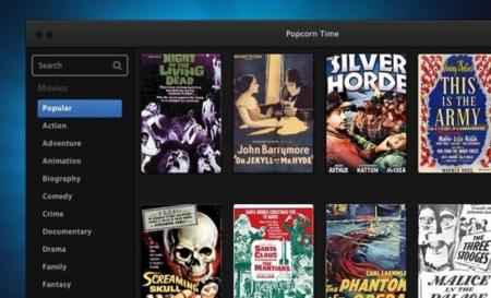 Time4Popcorn, un fork de Popcorn Time, llegará pronto a Android