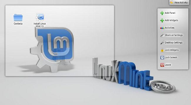 Linux Mint 13 KDE Edition