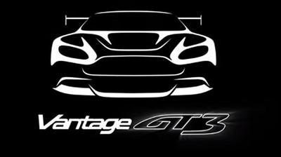 Aston Martin Vantage GT3, en camino