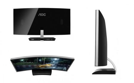 Aoc C3583fq 4k Display Freesync 05