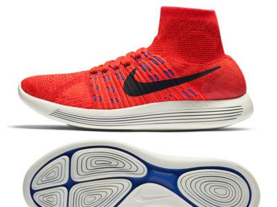 Nike reinventa la zapatilla de correr con las LunarEpic Flyknit