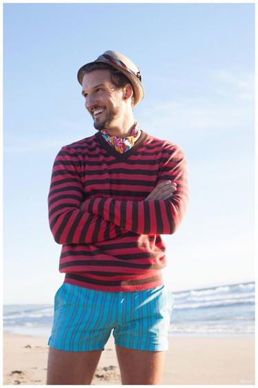Llega la hora de pensar en la playa con la colección de bañadores de Mr Turk