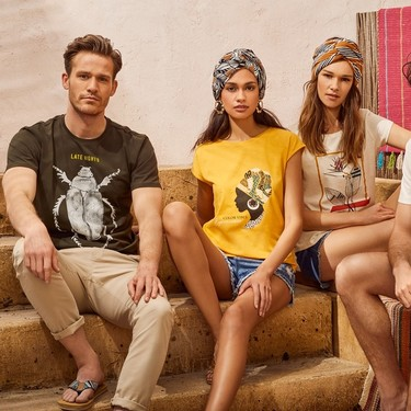 Cotton made in Africa, las camisetas de Springfield son solidarias y muy molonas