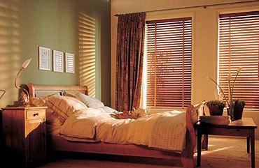 Unas persianas de madera como nuevas