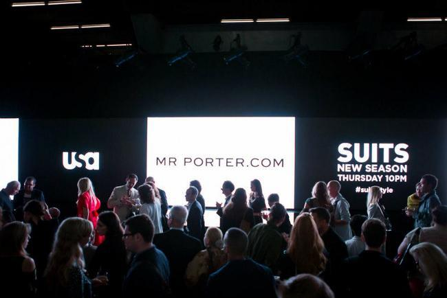Suits Fashion Show Mr Porter