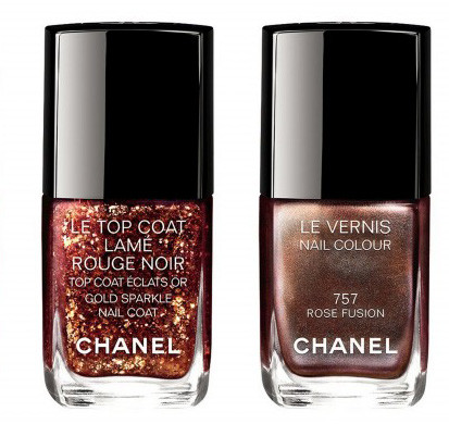 Chanel Rouge Noir Absolument Makeup Collection4