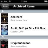 Kindle for iPhone permite leer los libros de Amazon en más dispositivos
