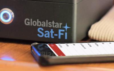 Globalstar lanza su nuevo punto de acceso inalámbrico para Internet por satélite