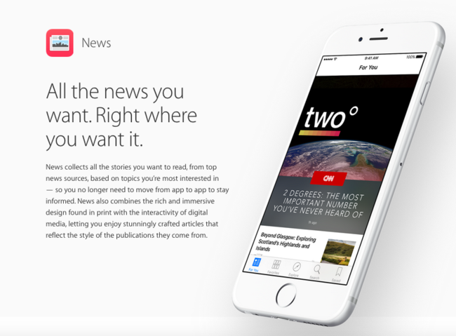 Apple sigue contratando gente para su división editorial en News