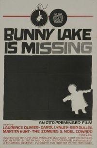 Cartel de Bunny Lake de Saul Bass
