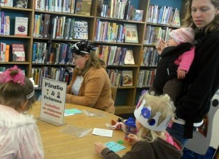 Pequeños lectores: a la biblioteca con los niños