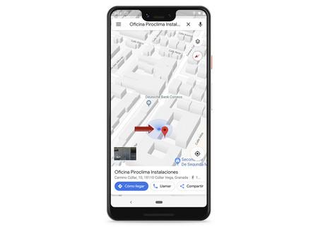Google Maps Aparcar Vehiculo