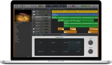 Apple actualiza Garageband con nuevos instrumentos orientados a la electrónica y el Hip-Hop