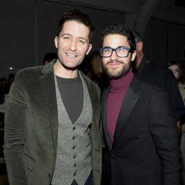 Matthew Morrison y Darren Criss arman mini-reencuentro de 'Glee' en el desfile de Todd Snyder en #NYFW