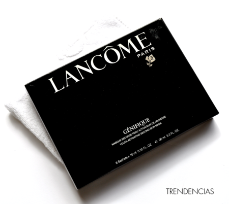 Lancome Genifique Activating Second Skin Mask Opiniones