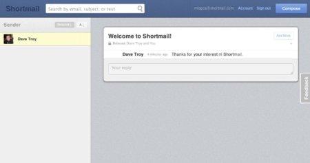 Shortmail, otro intento para evolucionar el correo electrónico