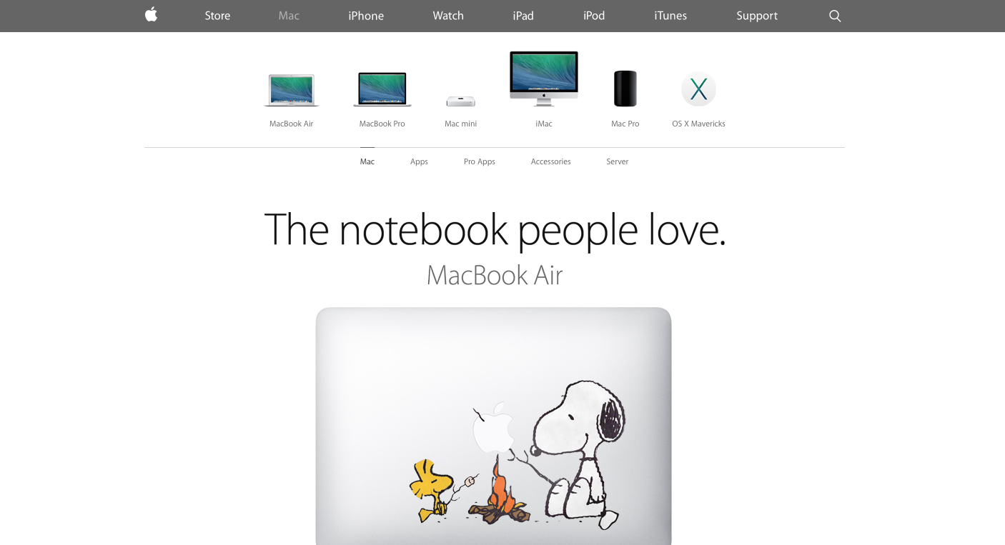 Foto de Nueva web de Apple (3/9)