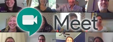 """Cómo usar el """"grid view"""" de Google Meet en las videollamadas desde un móvil Android"""