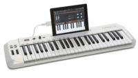 Carbon 49, teclado MIDI con soporte para colocar tu iPad