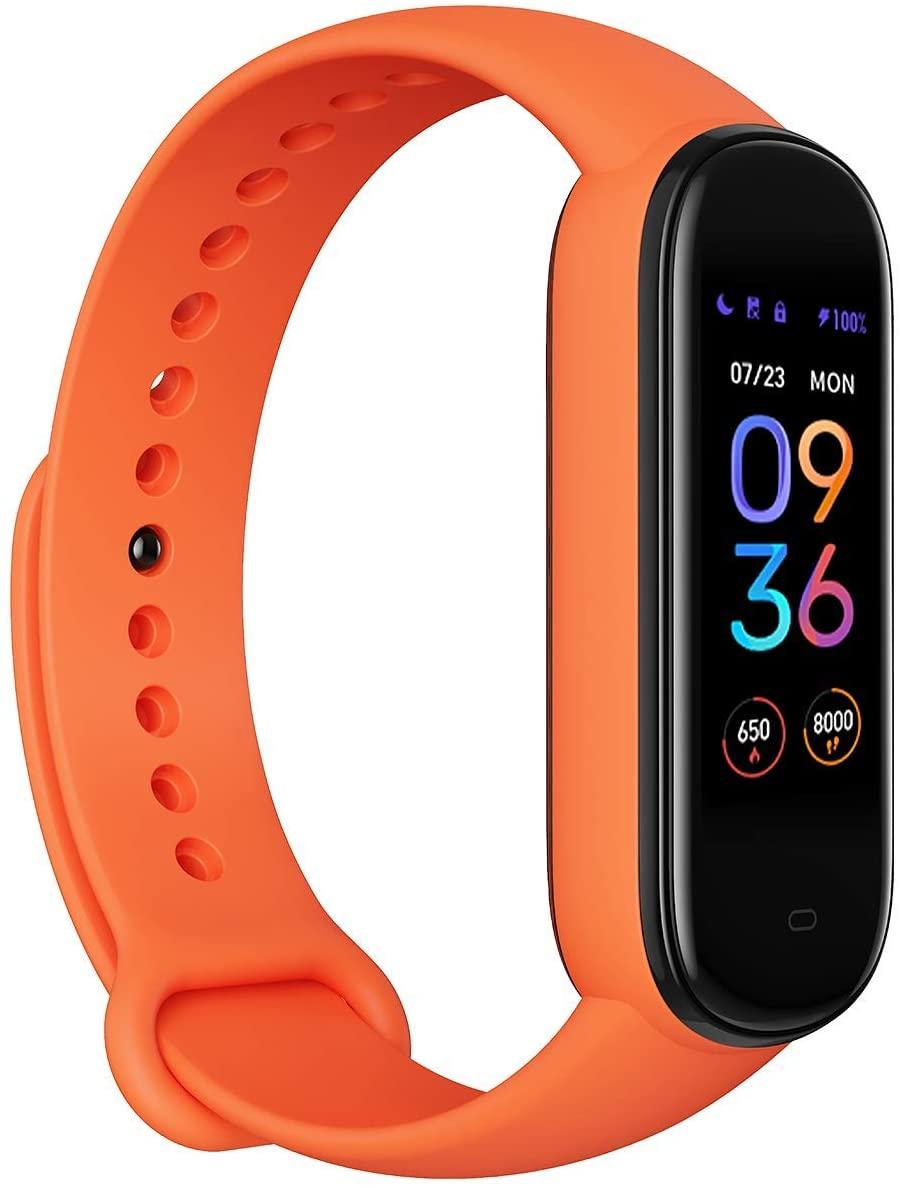 Amazfit Band 5 Fitness Tracker con Alexa Integrado, Naranja