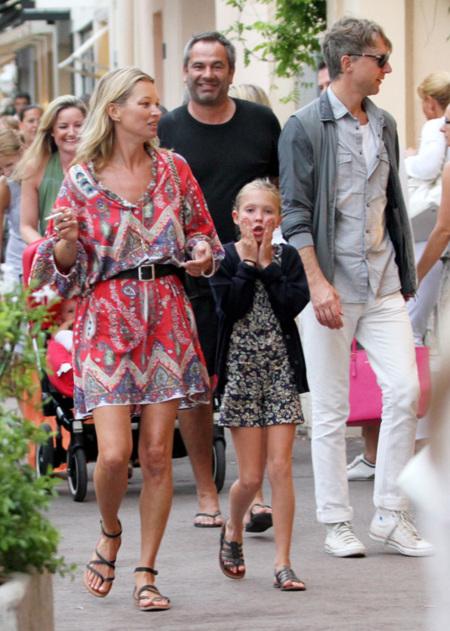 Gusto por lo étnico en la ciudad con Kate Moss y Heidi Klum
