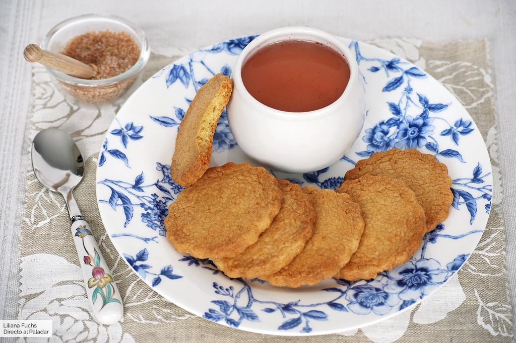 Galletas Shrewsbury biscuits: receta británica de pastas para el té