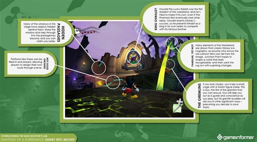 Foto de Nuevos detalles sobre cómo se juega a 'Epic Mickey' (1/4)