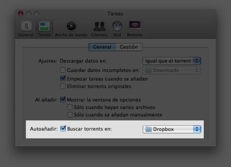 Carga torrents remotamente desde cualquier ordenador con DropBox