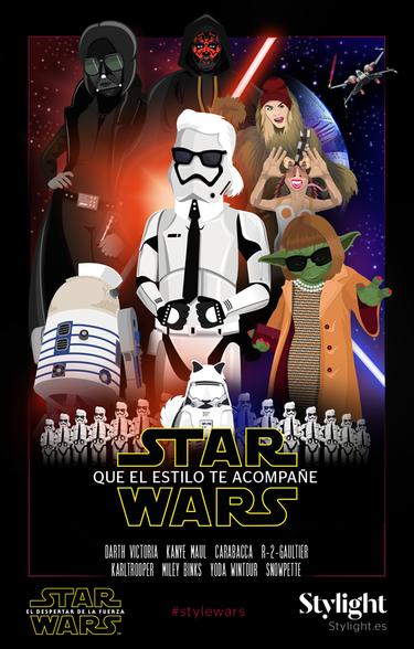 Star Wars: Que el estilo te acompañe o cómo convertir sus personajes en iconos de la moda (me parto)